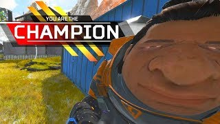 this is insane, it's his best match EVER in apex legends..