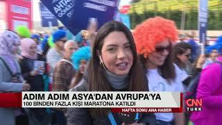 CNN TÜRK EKİBİ MARATONDA! - 40. VODAFONE İSTANBUL MARATONU'NDAN İZLENİMLER