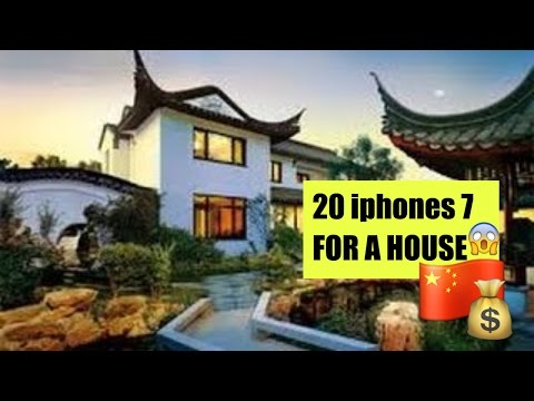 CHINESE WOMAN HAD 20 BOYFRIENDS GOT 20 iPhones 7 AND BOUGHT A HOUSE
