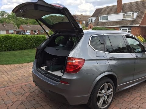 Aftermarket Power Liftgate  Installation for BMW X3