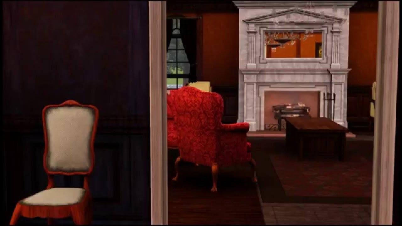 Vampire diaries bedroom - Sims 3 Vampire Diaries Le Manoir Des Salvatore