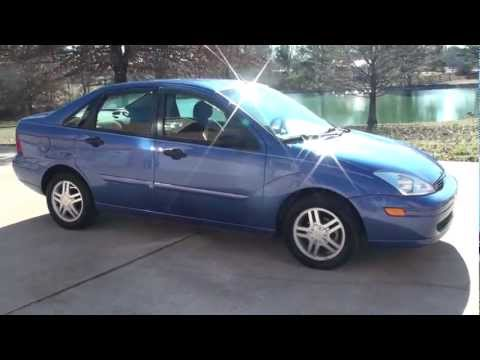 SOLD !! HD VIDEO 2002 FORD FOCUS SE LOW MILES SEDAN FOR SALE SEE WWW SUNSETMILAN COM