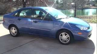 SOLD !! HD VIDEO 2002 FORD FOCUS SE LOW MILES SEDAN FOR SALE SEE WWW SUNSETMILAN COM(SEE WWW.SUNSETMILAN.COM FOR MORE PHOTO INFO AND A VIDEO, CLEAN CARFAX LOW MILES 2002 FORD FOCUS SE, 2.0L 4 CYLINDER, ..., 2013-01-21T22:47:05.000Z)