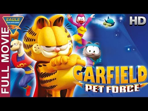 Garfield's Pet Force English Full Movie || Frank Welker,Gregg Berger || Animation Movies