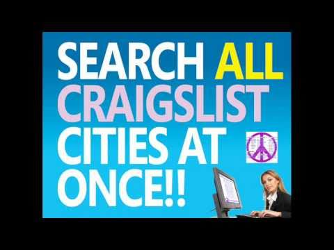 SEARCH ALL CRAIGSLIST CITIES AT ONCE - YouTube