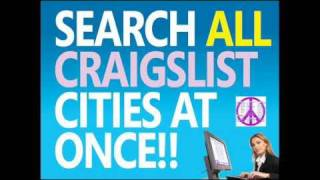 SEARCH ALL CRAIGSLIST CITIES AT ONCE