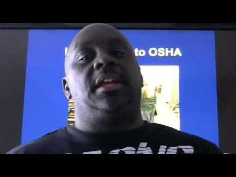 Free osha Training live on facebook