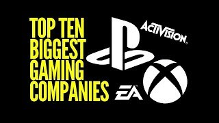 TOP 10 Richest Game Companies 2017-2018