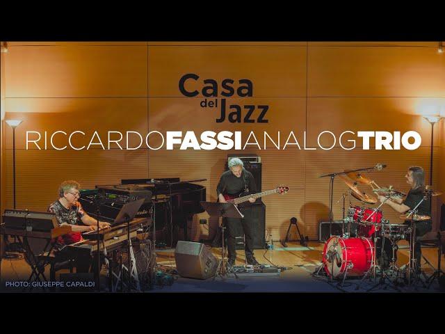SLOW CAT - Riccardo Fassi Analog Trio - LIVE @ CASA DEL JAZZ, ROMA