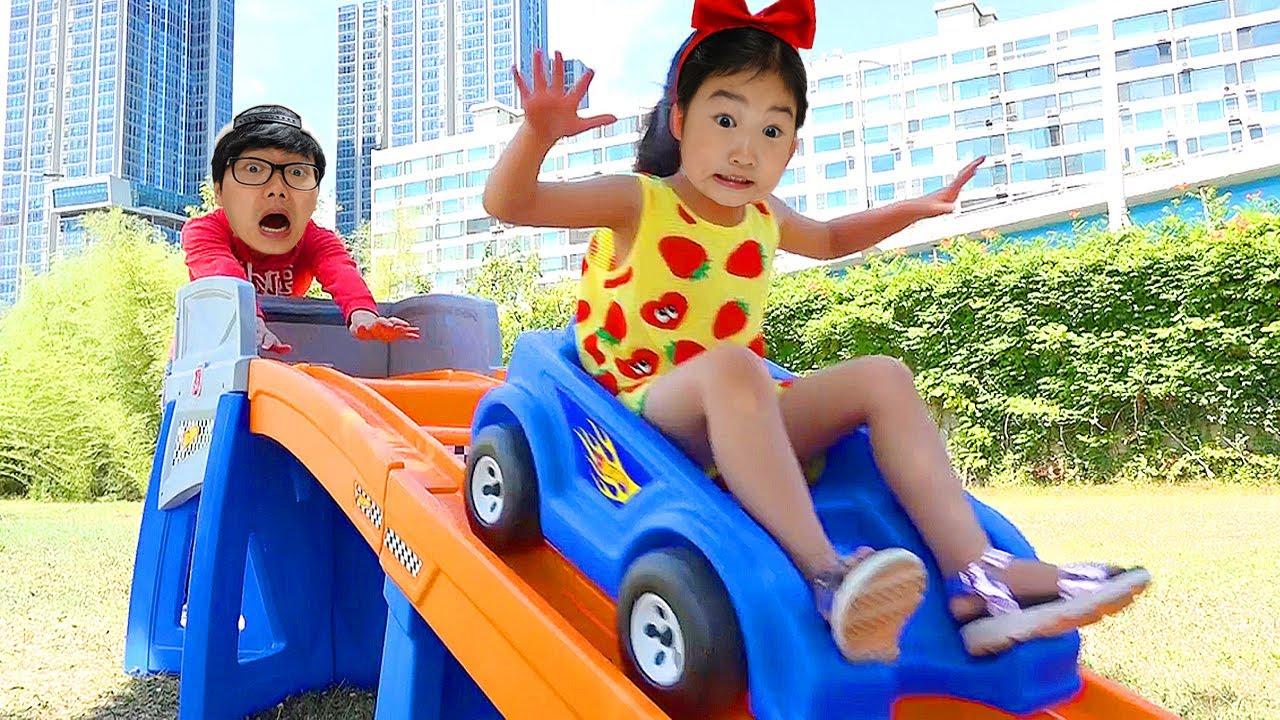 宝蓝风火轮滑梯 - 如何与孩子在室内玩得开心
