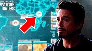 BLACK PANTHER | Iron Man, Avengers & Captain America Wakanda Easter Eggs