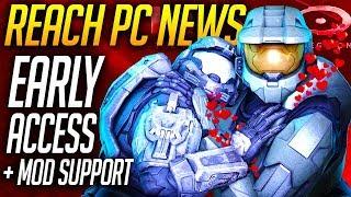HALO REACH PC NEWS + EARLY ACCESS, MOD SUPPORT, REACH ARMOR, ETC!