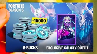 what happens when buy the $1000 Samsung Galaxy Fortnite Bundle? (GALAXY SKIN + 15,000 VBUCKS)