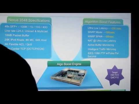 Cisco Algo Boost 3548: Tabletop Preview/Overview
