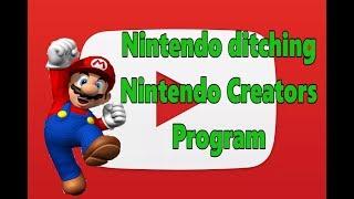 Nintendo finally ditches the Nintendo Creators Program