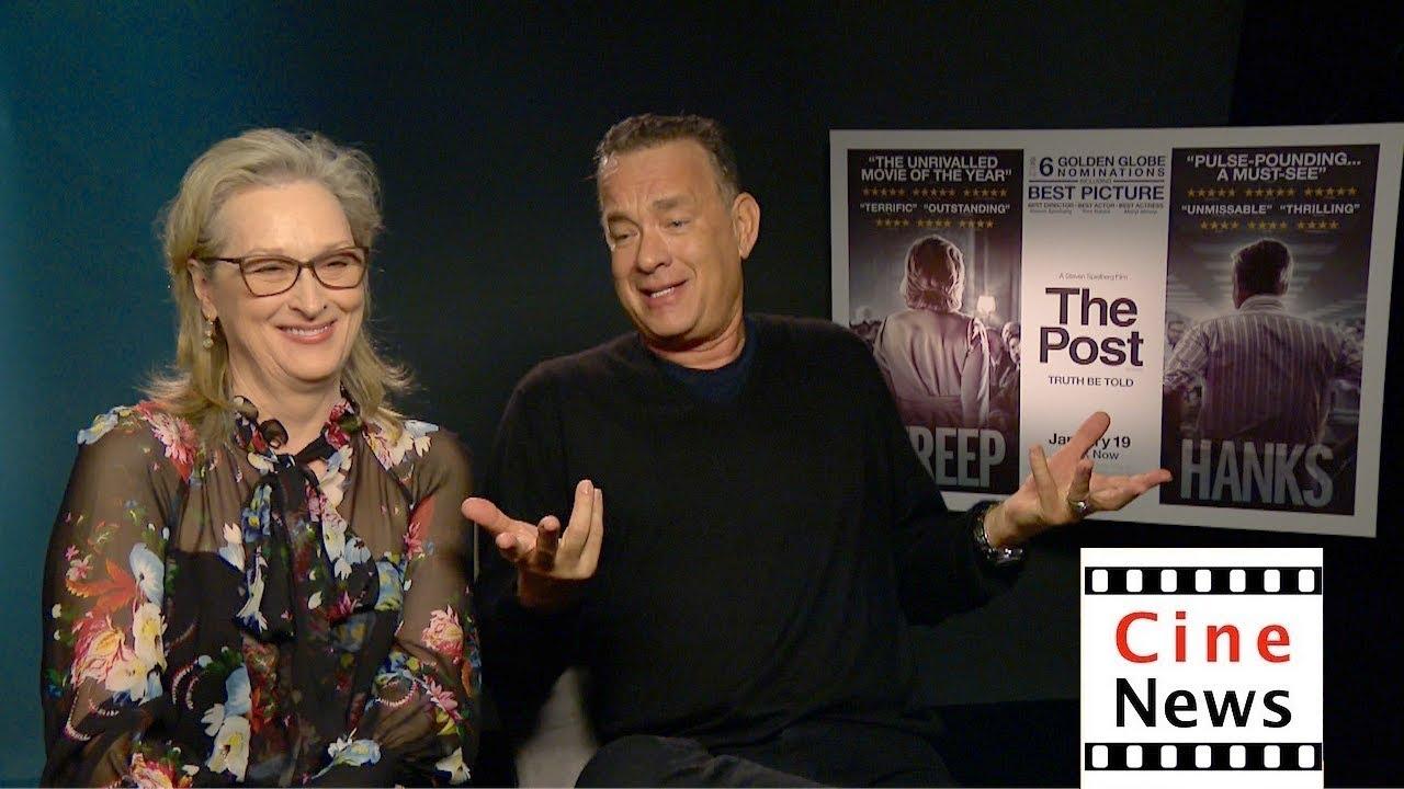 Download The Post – Interview: Meryl Streep & Tom Hanks