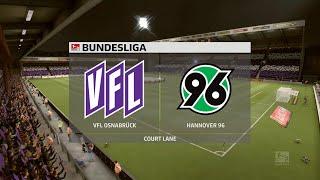 A simulation of the upcoming match in 2. bundesliga, vfl osnabrück vs hannover 96.vfl 96 - bundesliga (25/09/2020) all goals &...