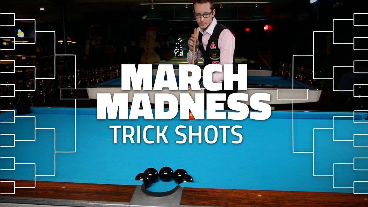 Billiard Trick Shots | March Madness Edition