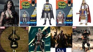 TNI News: Wonder Woman Movie 1/4 Figure, 66 Batman Figures, One:12 Marvel & DC, Release Dates & Q&A