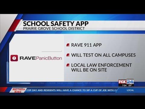 Prairie Grove School District Tests Safety App