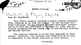 Classified UFO Documents Released