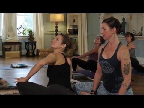 Beth Wendell Level 2 Yoga Class
