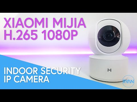 XIAOMI Mijia H 265 1080P 360° IP Camera REVIEW - Indoor Security Camera (EXCELLENT!)