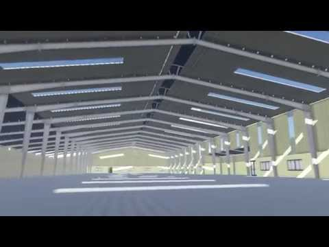 Rice Mill Factory-architectural animation-Horn Chanveasna