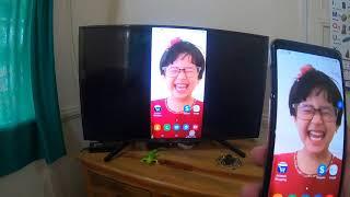 SONY BRAVIA KD-43X7002F 4k smart LED TV: SCREEN MIRRORING TUTORIAL