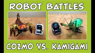 Cozmo the Robot | Robot Battles - Cozmo vs. Kamigami | Episode #70 | #cozmoments