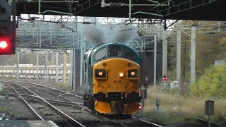 Class 37's - WARNING 40 minutes of neighbour annoying thrash!
