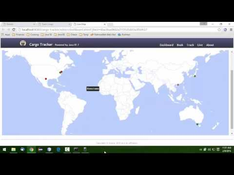 Cargo Tracker Demo