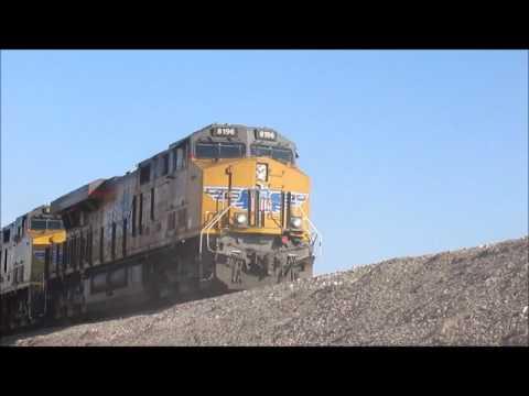 Birthday Railfanning trip to BARSTOW AND VEGAS PT 2 Cajon Pass Victorville Barstow