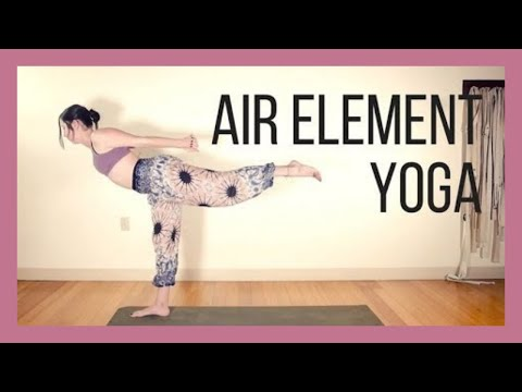 🌬️Air Element Yoga🌬️ Breath, Heart Connection & Inspiration {40 min}