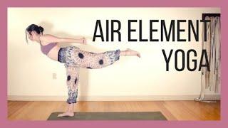 Air Element Yoga Breath, Heart Connection & Inspiration {40 min}