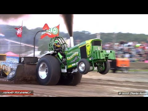 Tractor/Truck Pulls! 2018 LaPorte County Fair Pull NTPA
