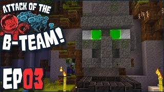 minecraft attack of the b team ep 03 soylent green is villagers b team modpack