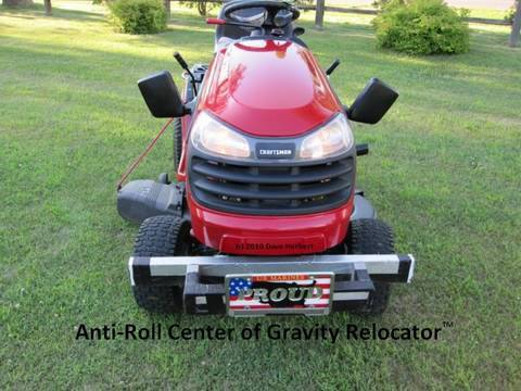 My 10 Lawn Tractor Modifications Including A Center Of