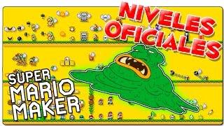 SUPER MARIO MAKER | NIVELES OFICIALES: La base de master belch | GAMEPLAY ESPAÑOL | WII U
