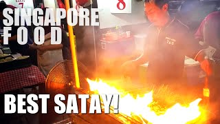 What To Eat In Singapore - Best Satay In Singapore At Lau Pa Sat