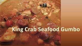 King Crab Seafood Gumbo