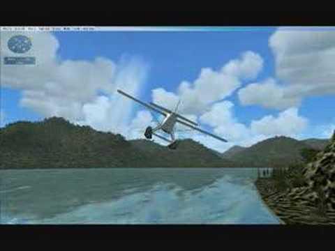 RDJ Simulations mission collection bush pilot Sandspit BC