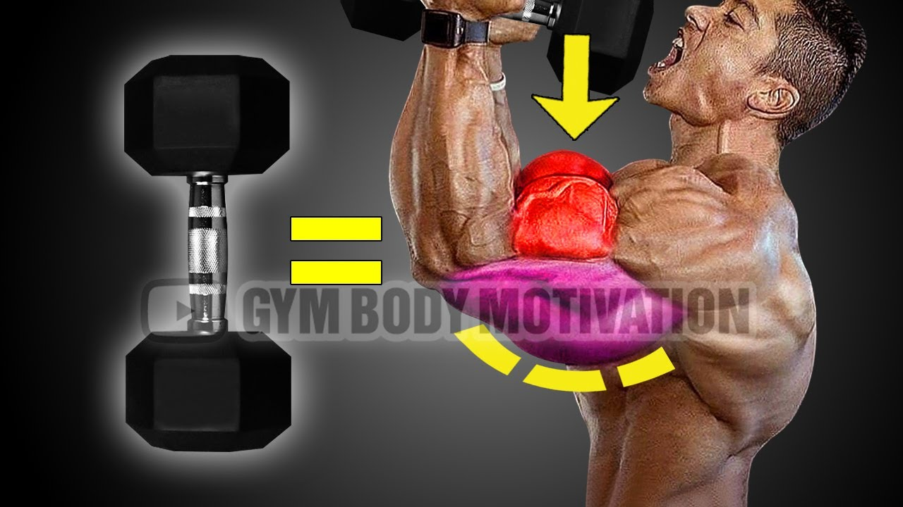 Dumbbells Only Arms Workout - Get Huge Arms