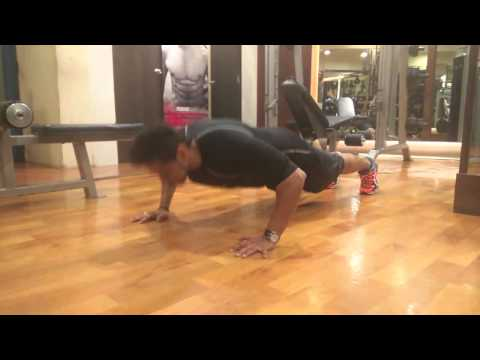 Trainer Prashant Sawant Working Out in TITIN