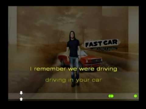 Christian Kane-  Fast Car (Lyrics)
