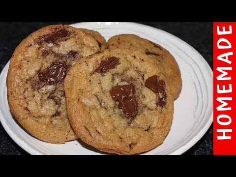 Chocolate Chip Cookies Recipe Chewy Best Ever by (HUMA IN THE KITCHEN)
