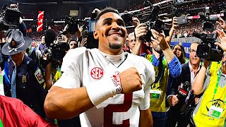 """""""I'm a Dog"""" - Oklahoma QB Jalen Hurts on His Competitive Nature 