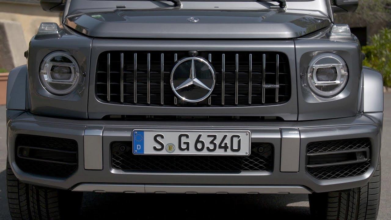 2019 Mercedes Amg G63 Selenite Grey Metallic Youtube