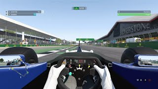 F1 2017 classic cars silverstone short race