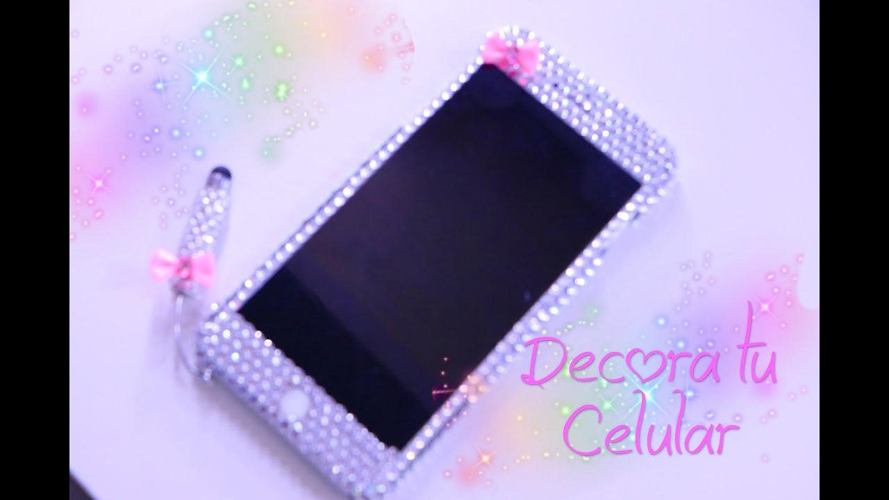 Decora tu celular youtube - Como decorar una funda de movil ...